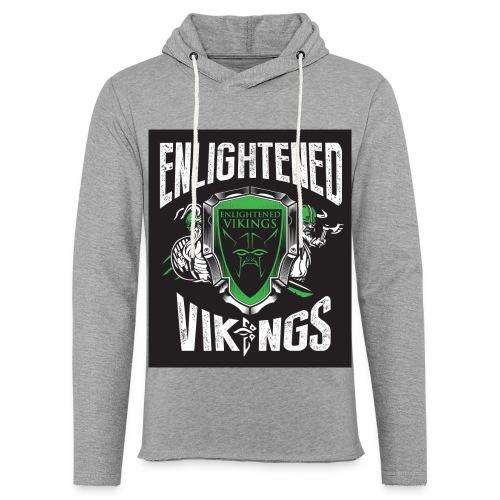 Enlightend Vikings - Lett unisex hette-sweatshirt