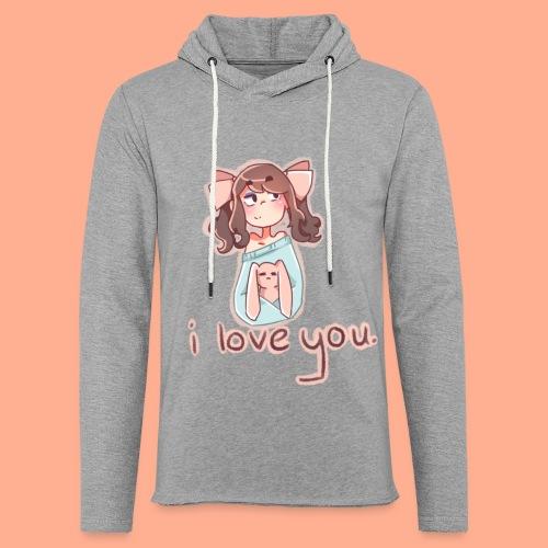 i love you - Light Unisex Sweatshirt Hoodie