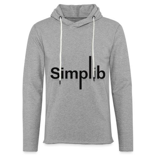 Logo-Simplib-ok - Lekka bluza z kapturem