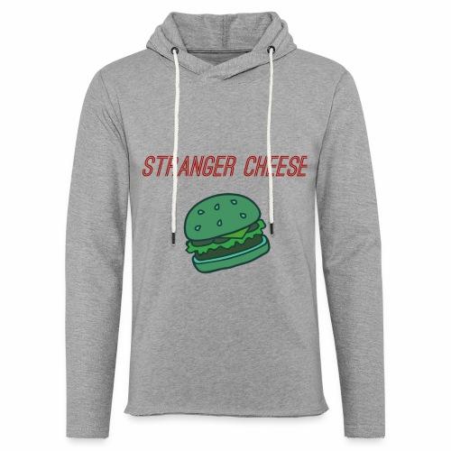 Stranger Cheese - Sweat-shirt à capuche léger unisexe