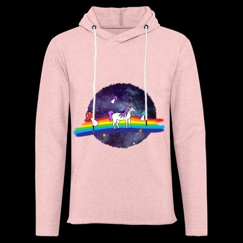 Mushroom Unicorn in Space Hoodie - Light Unisex Sweatshirt Hoodie