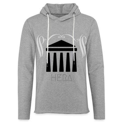 HERA - Sweat-shirt à capuche léger unisexe