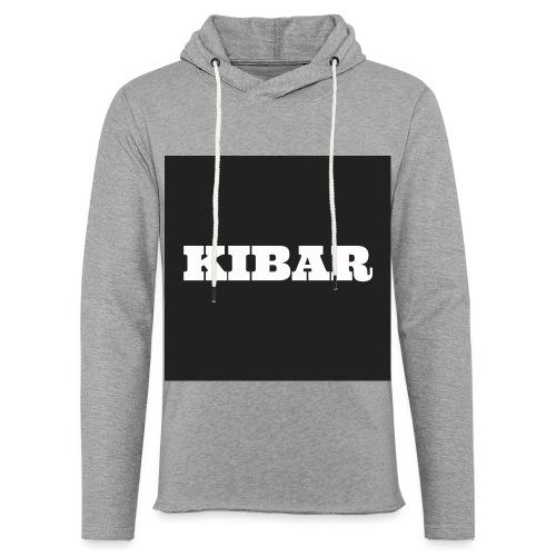 KIBAR - Let sweatshirt med hætte, unisex