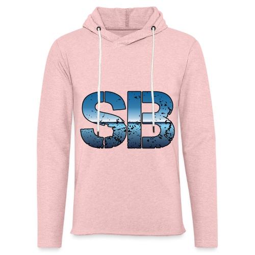 SB Logo - Let sweatshirt med hætte, unisex