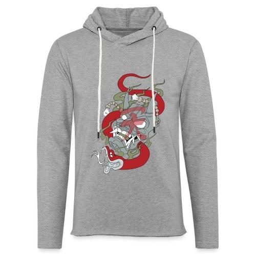 Démon - Sweat-shirt à capuche léger unisexe