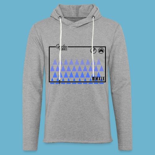 Blue Triangles logo - Light Unisex Sweatshirt Hoodie