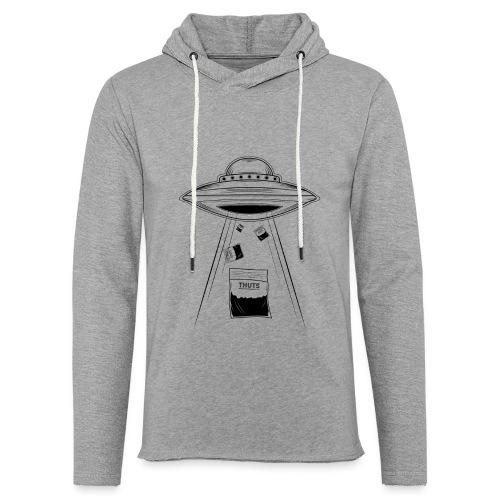 UFO thuts - Sweat-shirt à capuche léger unisexe