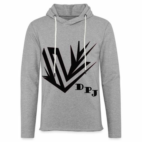 dpj - Sweat-shirt à capuche léger unisexe