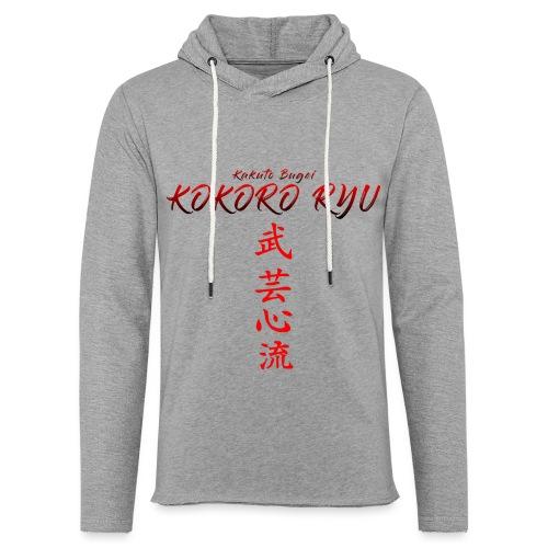 KOKORO RYU - Sweat-shirt à capuche léger unisexe