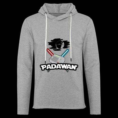 Padawan Noir - Sweat-shirt à capuche léger unisexe