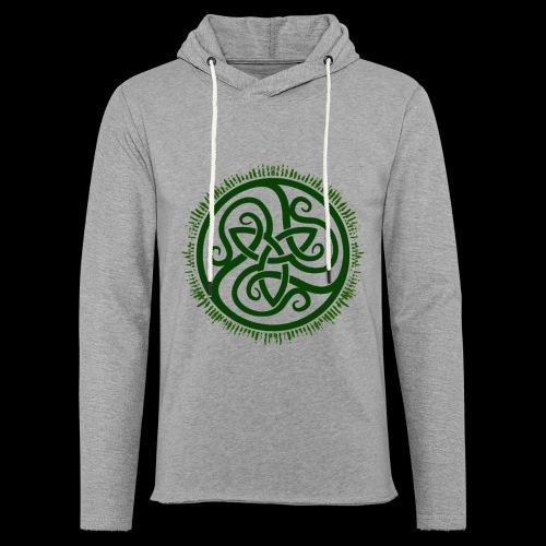 Green Celtic Triknot - Light Unisex Sweatshirt Hoodie
