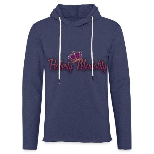Haberty Mentality - Sweat-shirt à capuche léger unisexe