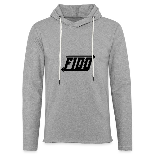Fido - Simple - Let sweatshirt med hætte, unisex