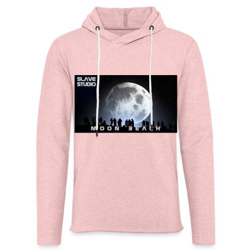 Moon beach - Felpa con cappuccio leggera unisex