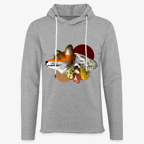 Autumn Foxey - Felpa con cappuccio leggera unisex