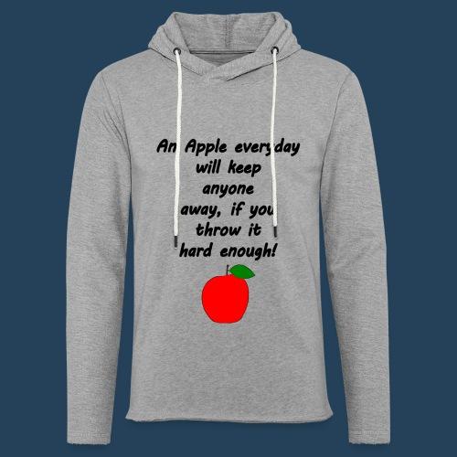 Apple Doctor - Leichtes Kapuzensweatshirt Unisex