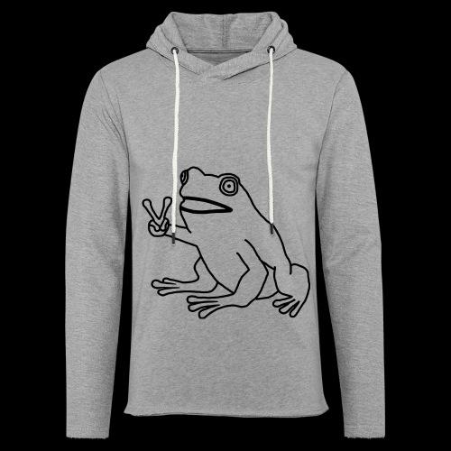 Funny Animal Frog Frosch - Leichtes Kapuzensweatshirt Unisex