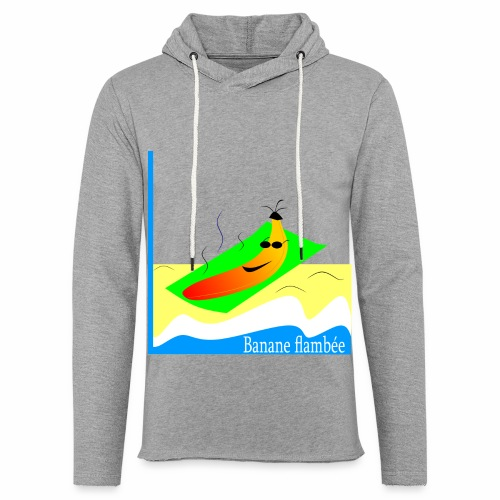 Flaming banana - Light Unisex Sweatshirt Hoodie