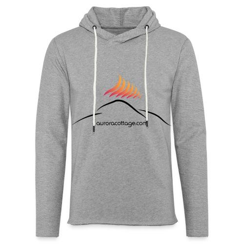 auroracottage.com - Leichtes Kapuzensweatshirt Unisex