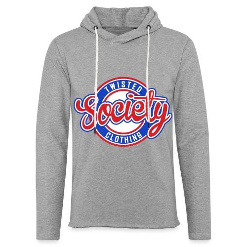 Retro baseball logo - Light Unisex Sweatshirt Hoodie