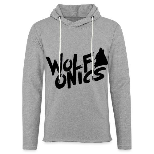 Wolfonics - Leichtes Kapuzensweatshirt Unisex