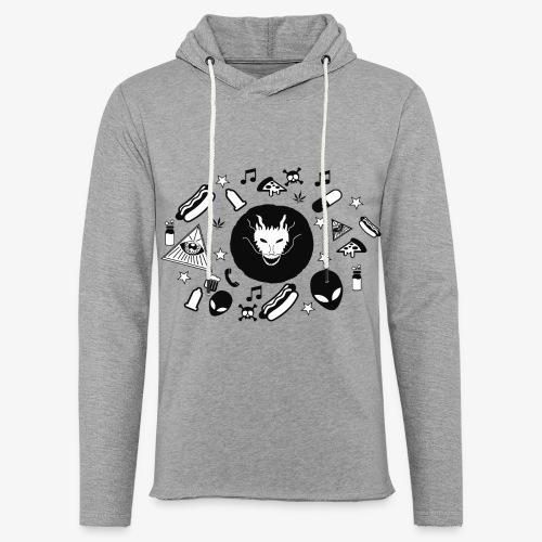 TRIPPY - Lichte hoodie unisex