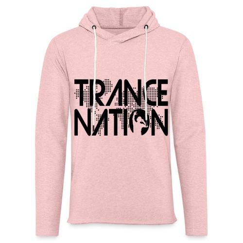 Trance Nation (Black) - Lätt luvtröja unisex