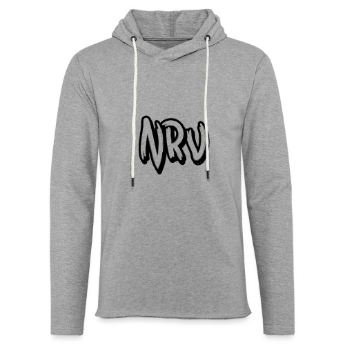 NRV - Sweat-shirt à capuche léger unisexe