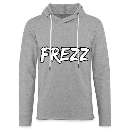 T Shirt FREZZ Noir&Blanc Classique (NOIR) - Sweat-shirt à capuche léger unisexe