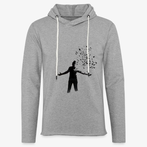 Coming apart. - Light Unisex Sweatshirt Hoodie