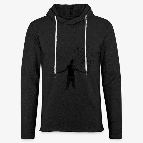 Coming apart. - Light Unisex Sweatshirt Hoodie