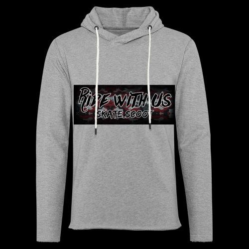 red camo - Lichte hoodie unisex