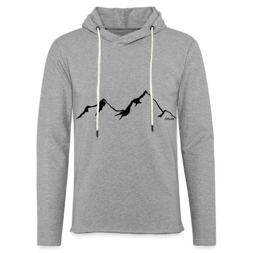 Mountain - Lichte hoodie unisex