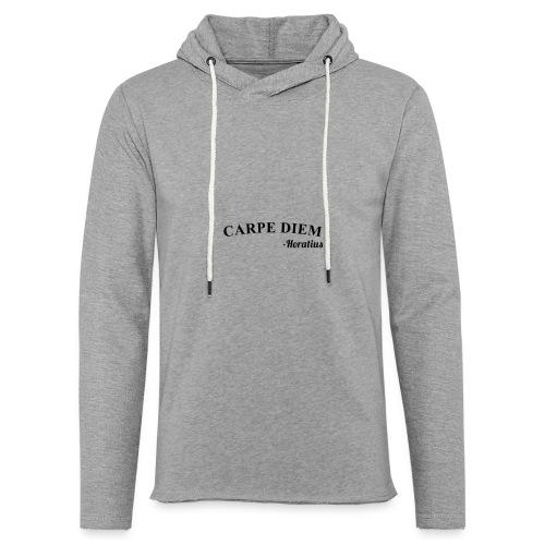 CarpeDiem - Felpa con cappuccio leggera unisex