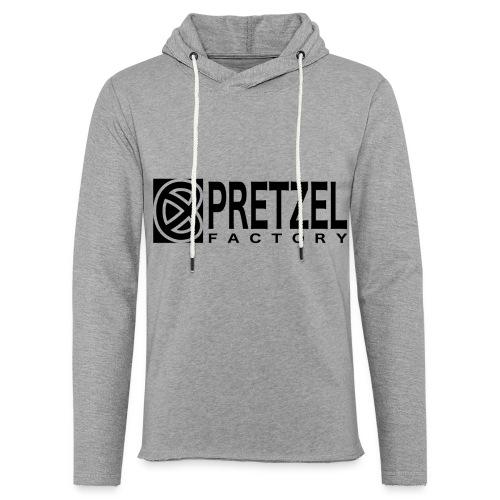 Pretzel Factory Logo Noir - Sweat-shirt à capuche léger unisexe