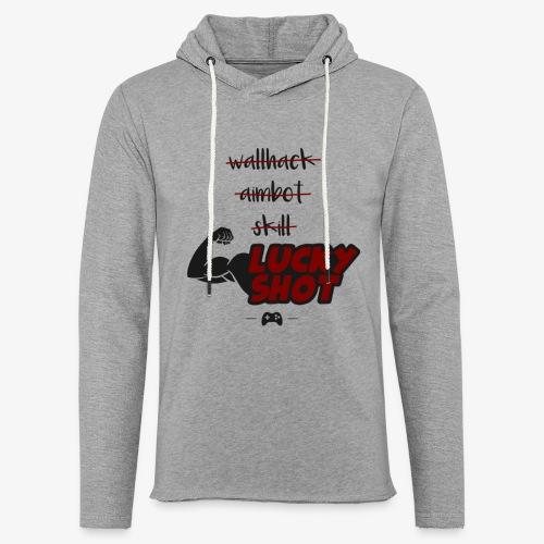 lucky shot - Sweat-shirt à capuche léger unisexe