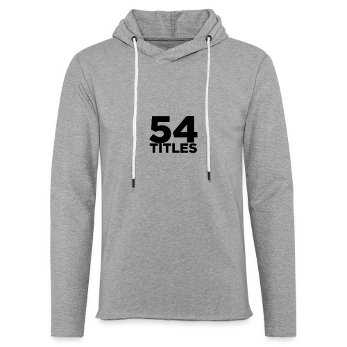 54 Titles - Light Unisex Sweatshirt Hoodie