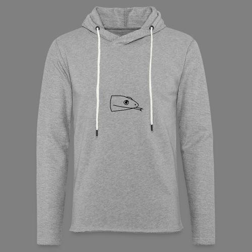 Snake logo black - Lichte hoodie unisex