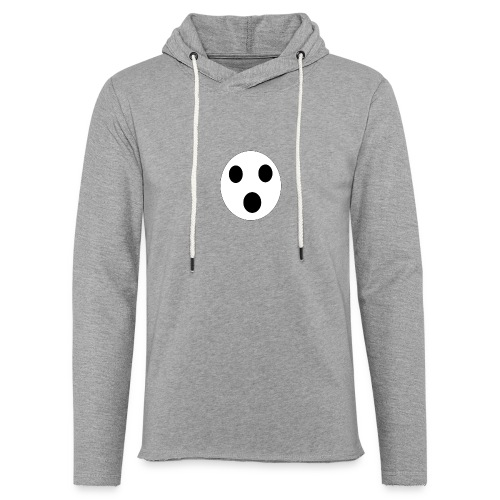 Sort Uni T-shirt - Let sweatshirt med hætte, unisex