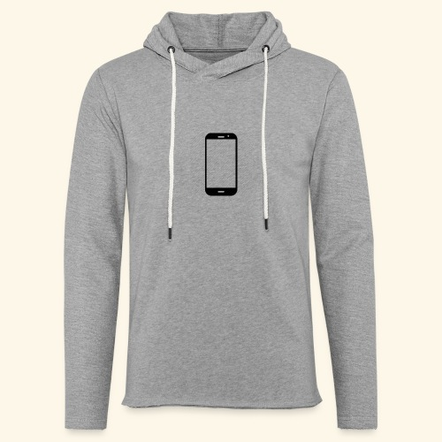 Phone clipart - Light Unisex Sweatshirt Hoodie