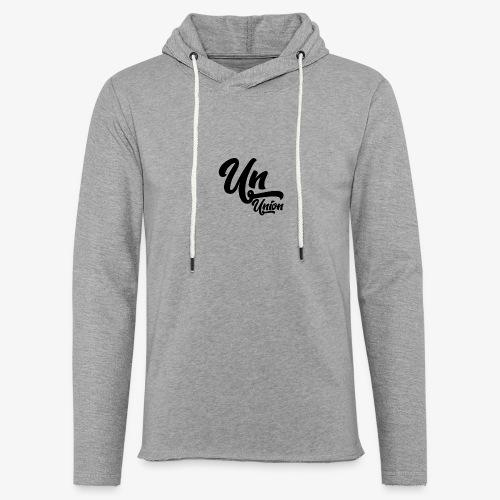 Union - Sweat-shirt à capuche léger unisexe