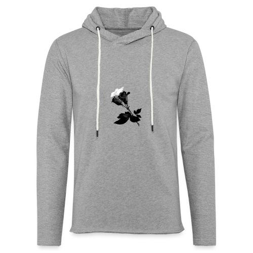 Black and White Rose Bundle - Light Unisex Sweatshirt Hoodie