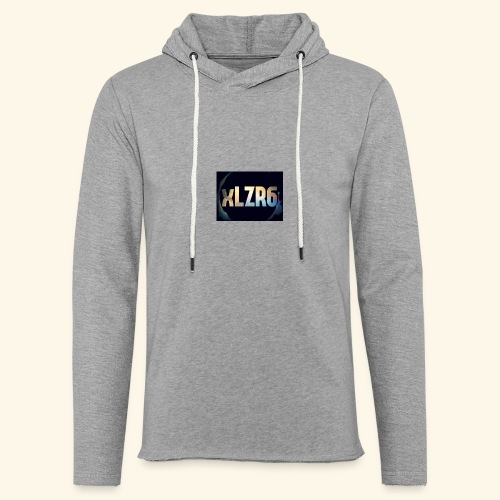 received 2208444939380638 - Sweat-shirt à capuche léger unisexe