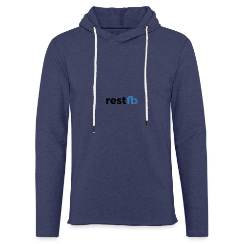 RestFB logo black - Light Unisex Sweatshirt Hoodie
