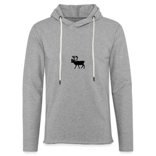 Le Caribou - Sweat-shirt à capuche léger unisexe