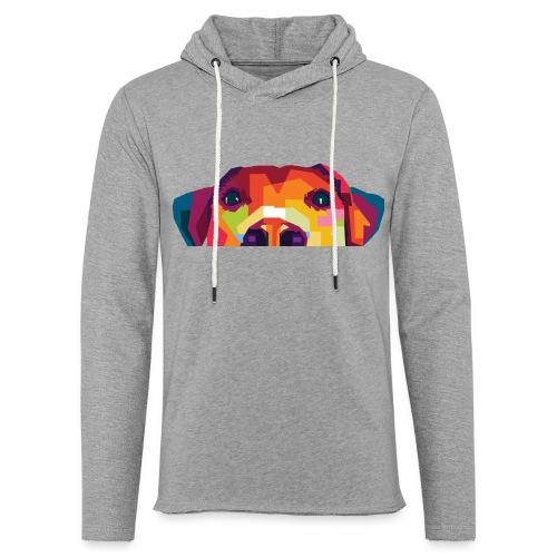 Hunde WPAP Design - Leichtes Kapuzensweatshirt Unisex