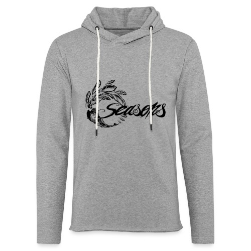 Seasons - Black logo - Sweat-shirt à capuche léger unisexe