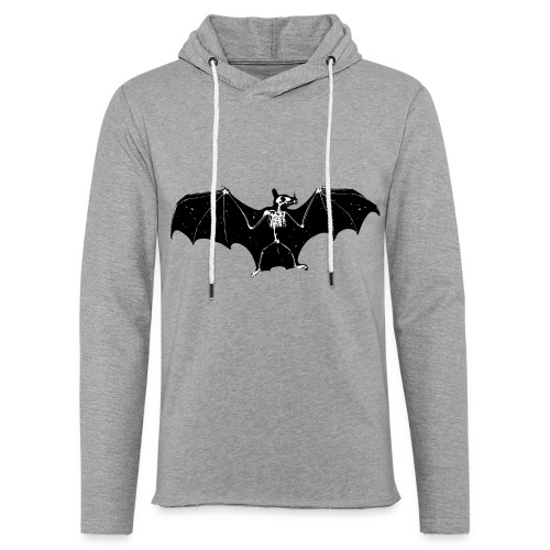 Bat skeleton #1 - Light Unisex Sweatshirt Hoodie
