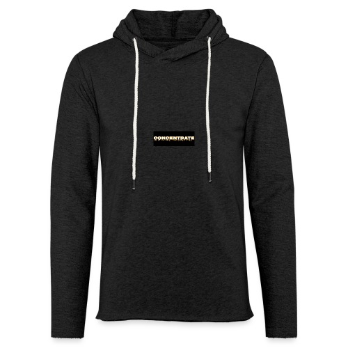 Concentrate on black - Light Unisex Sweatshirt Hoodie