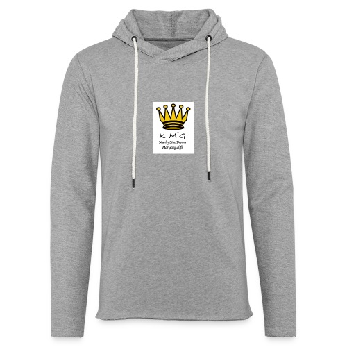 MarleySimsBrown(king_MarleyTHEgreat) - Light Unisex Sweatshirt Hoodie